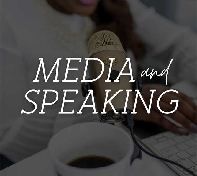 Media and Speaking